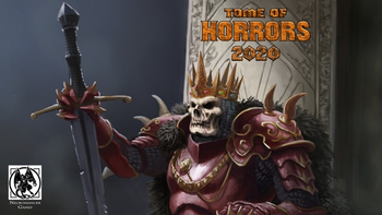 Tome of Horrors 2020 for Fifth Edition by Necromancer Games board game
