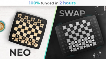 Square Off NEO & SWAP | Board Games Powered by Robotics & AI