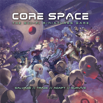 Core Space board game