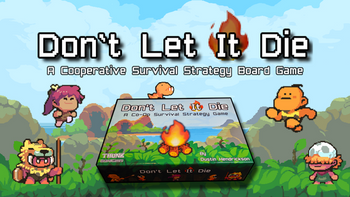 Don't Let It Die - The Prehistoric Coop Survival Game board game
