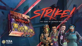 STRIKE! The Game of Worker Rebellion board game