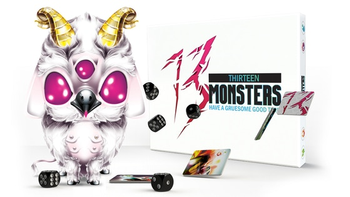 13 Monsters - a frantic easy to play partygame!