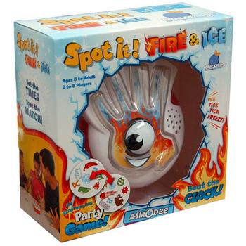 Spot It! Fire & Ice board game