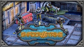 Shadow Strike: A Cyberpunk Tabletop Skirmish Game board game