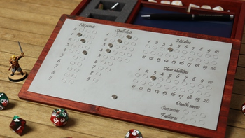 The Box of Holding board game