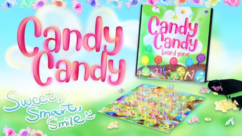 Candy Candy: a Sweet & Wonderful Board Game for Girls & Boys board game