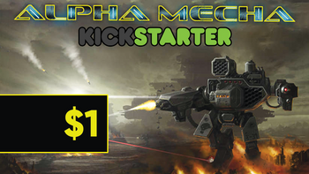 Alpha Mecha: PDF Edition board game