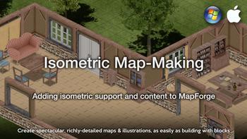 Isometric Map-Making board game