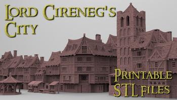 Lord Cireneg's City board game