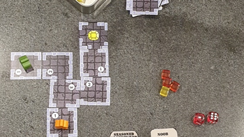 Little Living Dungeon board game