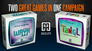 Analog Apps by Fisher Heaton Games board game