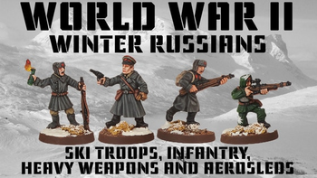 Winter Russians board game