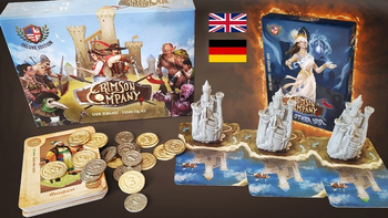Crimson Company: The Other Side board game