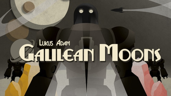 Galilean Moons - A Board Game of Galactic Mining board game