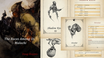 The Races Among Us - ShadowMyths Elementals for RPGs/DnD board game