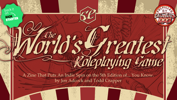 The World's Greatest Roleplaying Game: The Zine board game