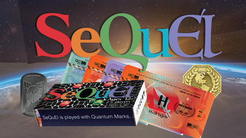 SeQuEl: Play for the Power of Quantum Marks! board game