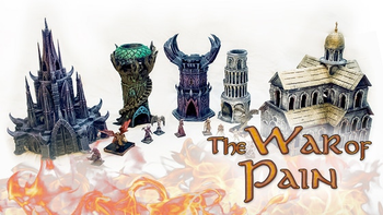 The War of Pain board game