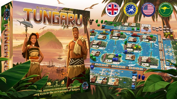 Tungaru - A Euro game designed by Louis & Stefan Malz
