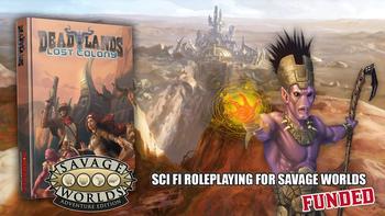 Deadlands: Lost Colony board game