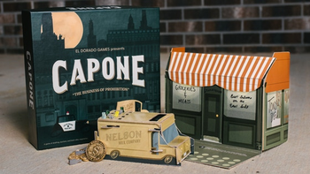 Capone: The Business of Prohibition board game