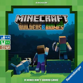 Minecraft: Builders & Biomes board game