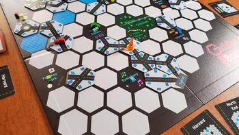 Gridlock Boston board game