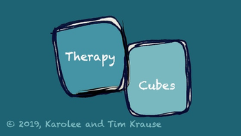 Therapy Cubes: An Interactive Story-Telling Dice Game board game