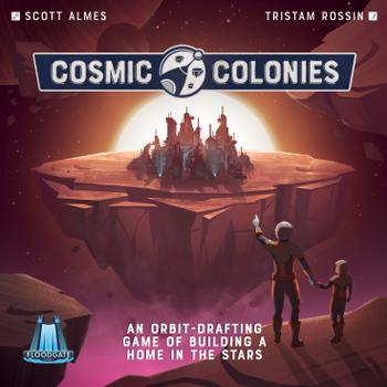 Cosmic Colonies board game