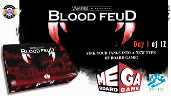 Vampire: the Masquerade - Blood Feud a Mega Board Game board game