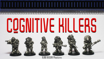 Cognitive Killers! board game