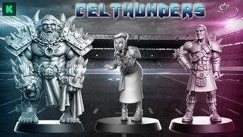 Celthunders Fantasy Football Team board game