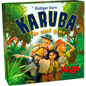 Karuba: The Card Game board game