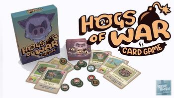 Hogs of War Card Game board game