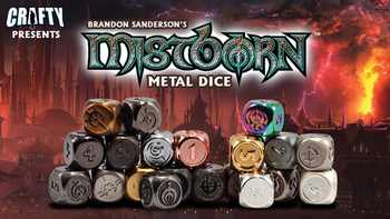 Mistborn Metal Dice