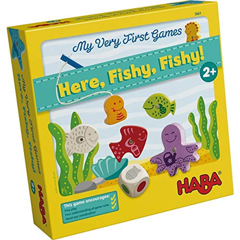 My Very First Games: Here, Fishy, Fishy! board game