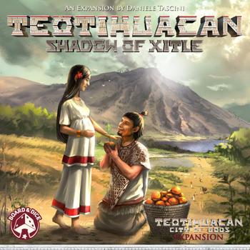 Teotihuacan: Shadow of Xitle board game