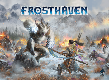 Frosthaven board game