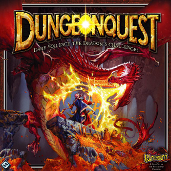DungeonQuest (third edition) board game