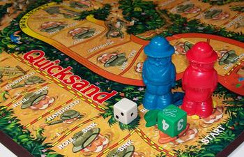 Quicksand board game