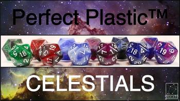 Zucati Dice Perfect Plastic™: Celestials board game
