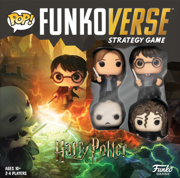 Funkoverse Strategy Game: Harry Potter 100 board game