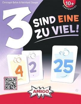 3 sind eine zu viel! board game