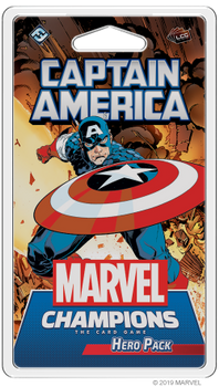 Marvel Champions: The Card Game - Captain America Hero Pack board game