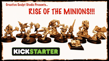 Rise of the Minions!!!! board game