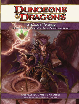 Arcane Power: A 4th Edition D&D Supplement board game