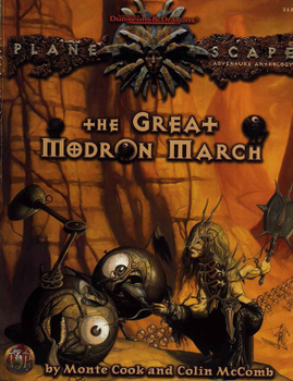 The Great Modron March board game