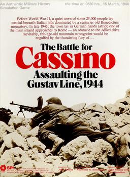 The Battle for Cassino: Assaulting the Gustav Line, 1944 board game