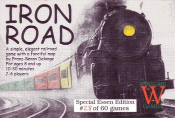 Iron Road board game