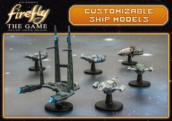 Firefly: The Game - Customizable Ship Models